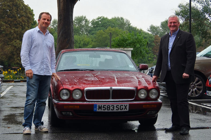 The end of the road for our £500 Jaguar
