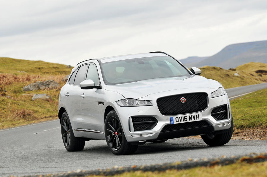 jaguar f pace review 2017 autocar. Black Bedroom Furniture Sets. Home Design Ideas