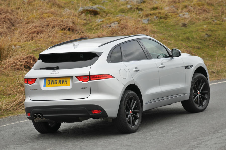 jaguar f-pace review (2019) | autocar