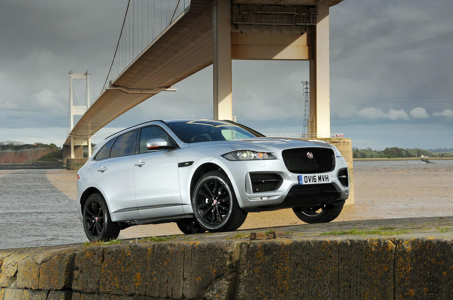 4 star Jaguar F-Pace