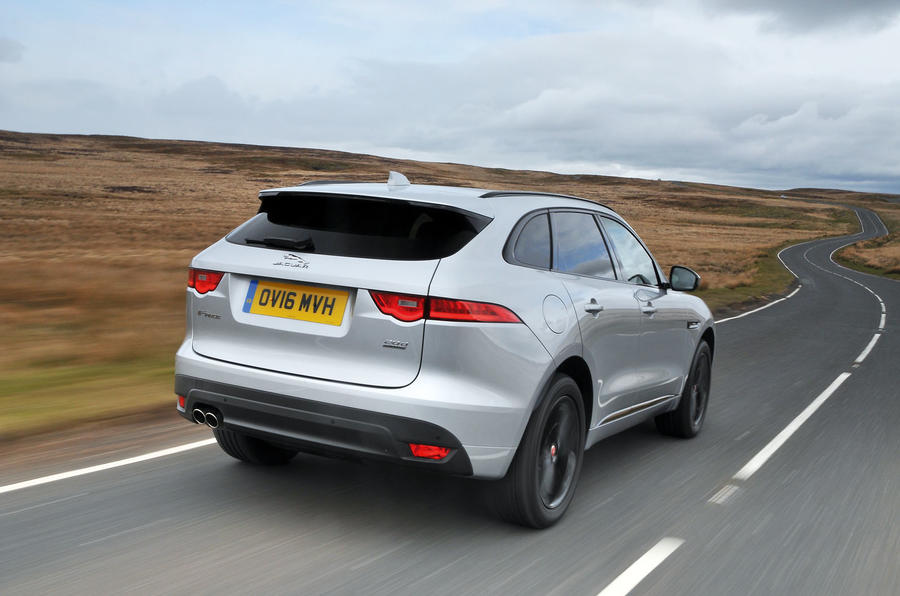Jaguar F-Pace  2016 road test review rear
