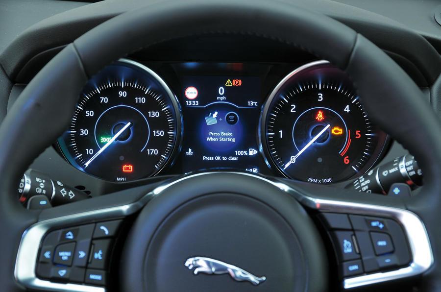 Jaguar F-Pace interior | Autocar