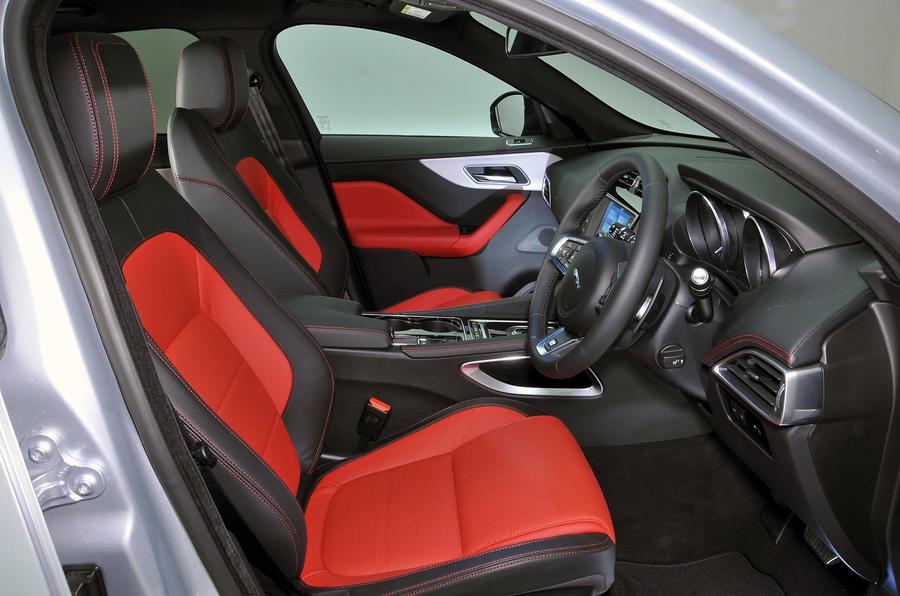 ... Jaguar F Pace Interior ...