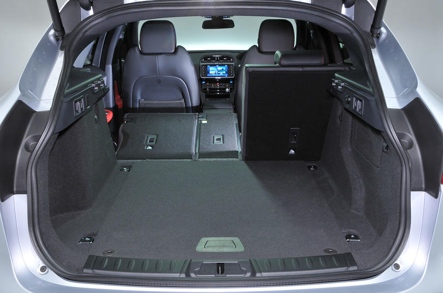 ... Jaguar F Pace Boot Space ...