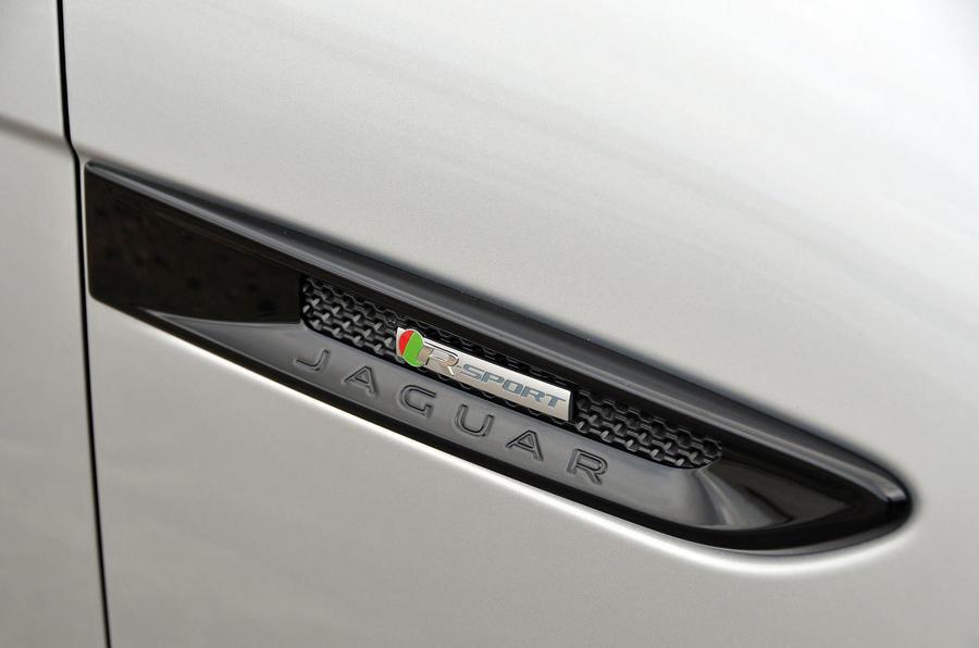 Jaguar F-Pace side details