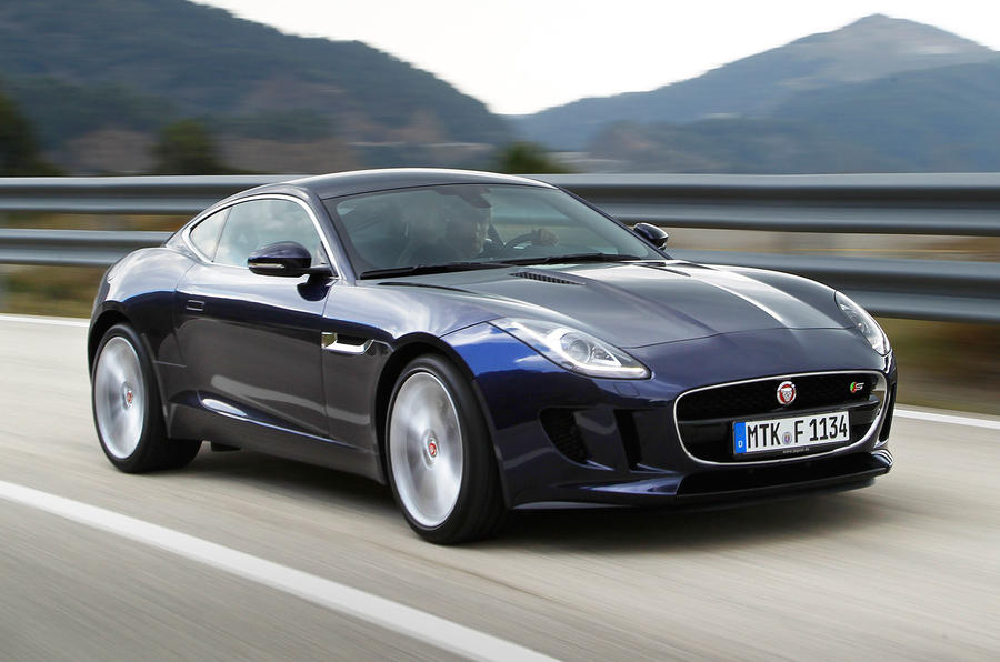Jaguar F Type Coupe S First Drive Review