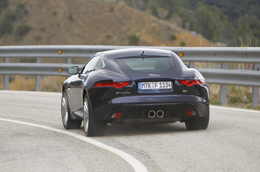 Jaguar F-type coupe S first drive review