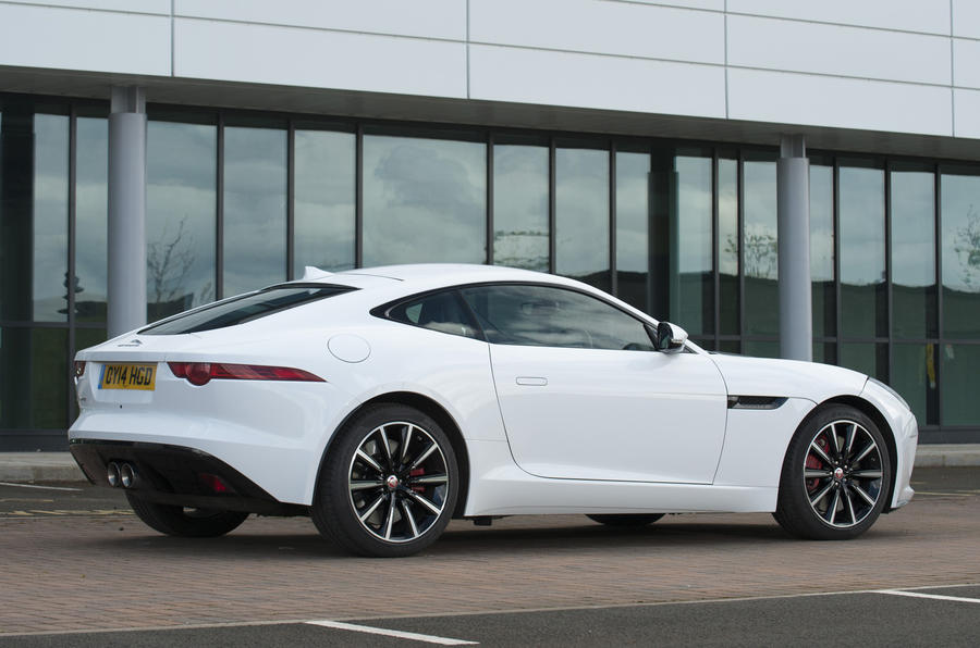 Jaguar F-type coupé rear