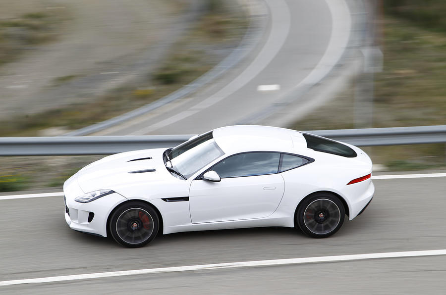 Jaguar F-type coupe first drive review