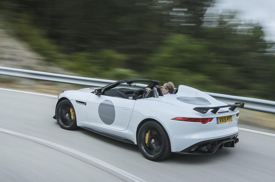 Convertible Jaguar F-Type Project 7