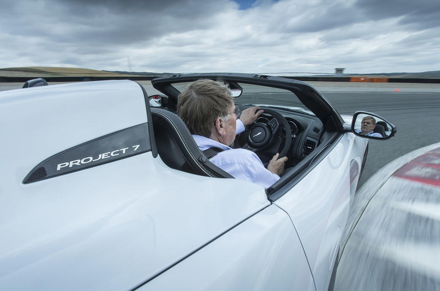 Driving the F-Type Project 7
