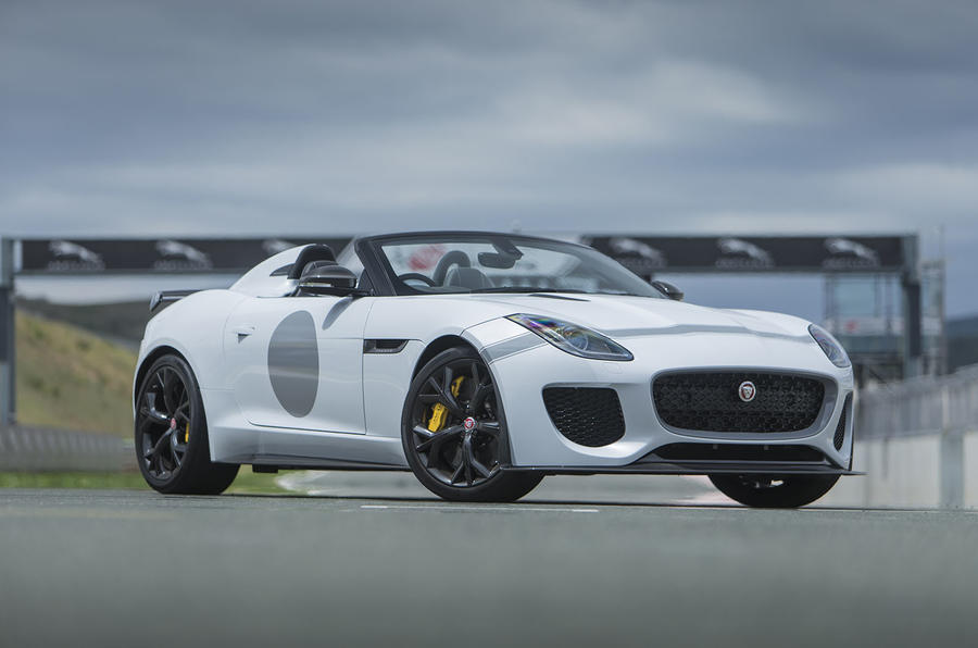 567bhp Jaguar F-Type Project 7