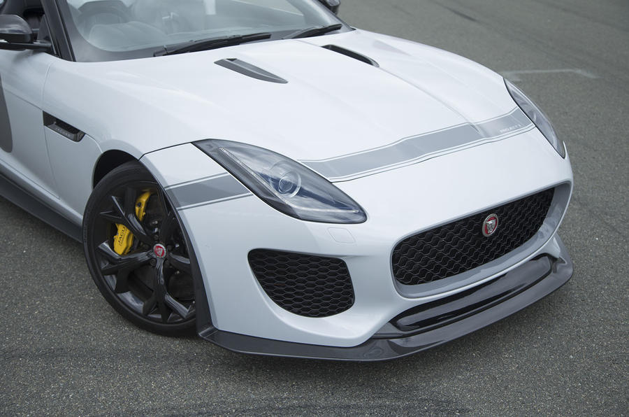 Jaguar F-Type Project 7 front end