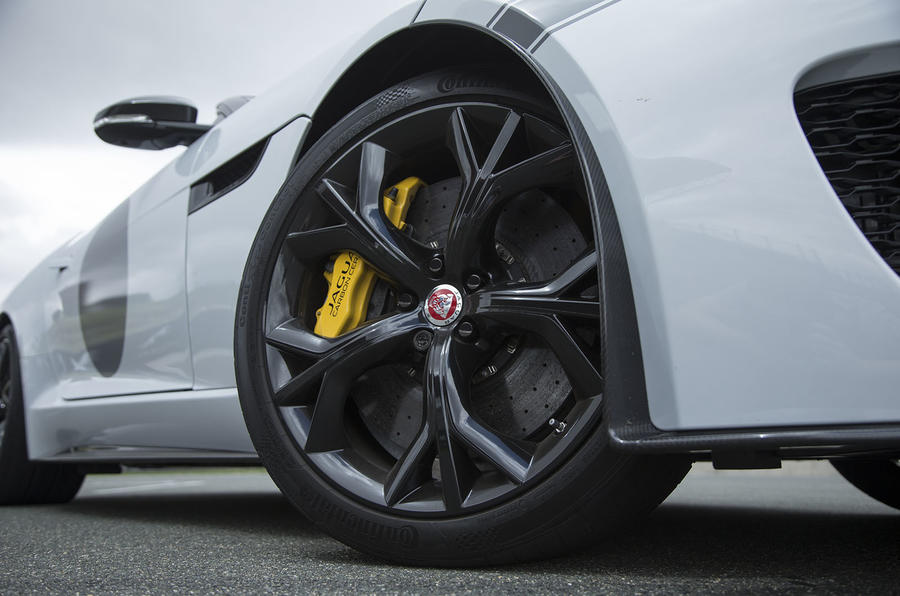 F-Type Project 7 alloy wheels