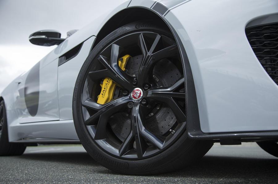 F-Type Project 7 alloy wheels