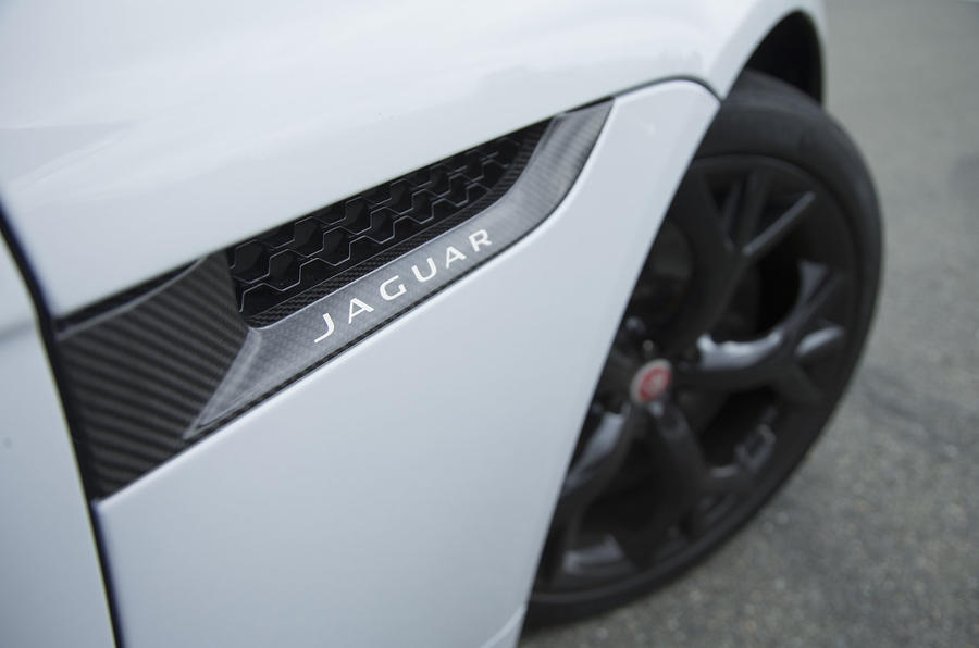 F-Type Project 7 side vents