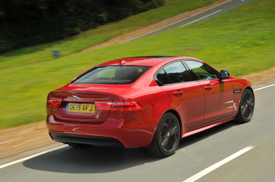Jaguar XE is poised and agile