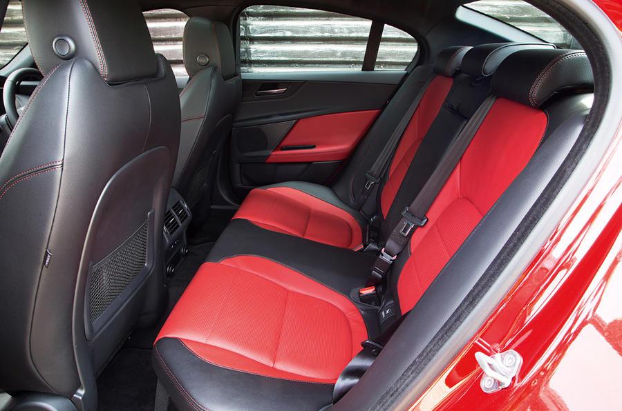 ... Jaguar XE Interior; Jaguar XE Rear Seats ...