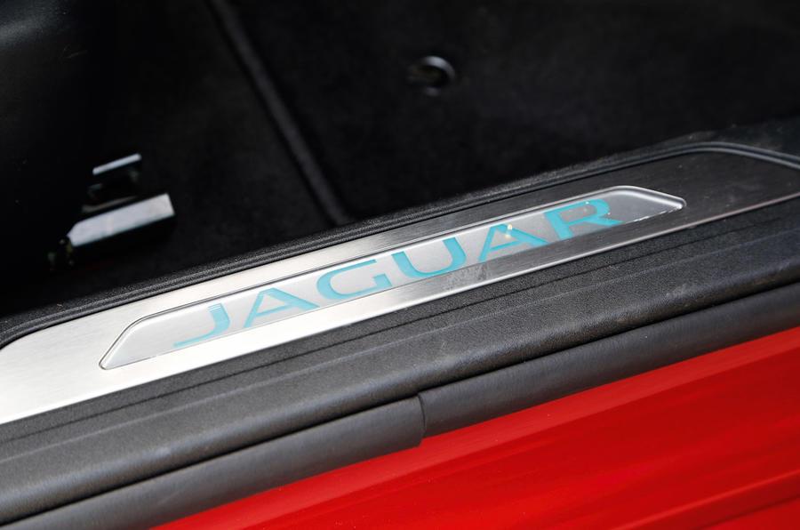 Jaguar XE scuff plates