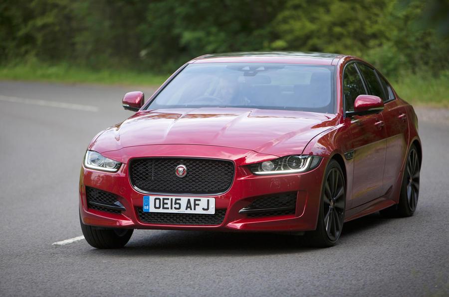 Jaguar XE cornering