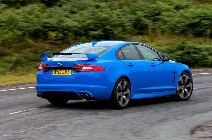 Jaguar XFR-S rear cornering