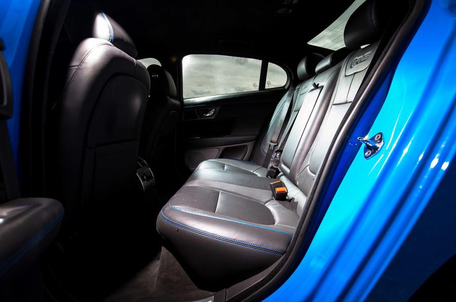 Jaguar XFR-S rear seats