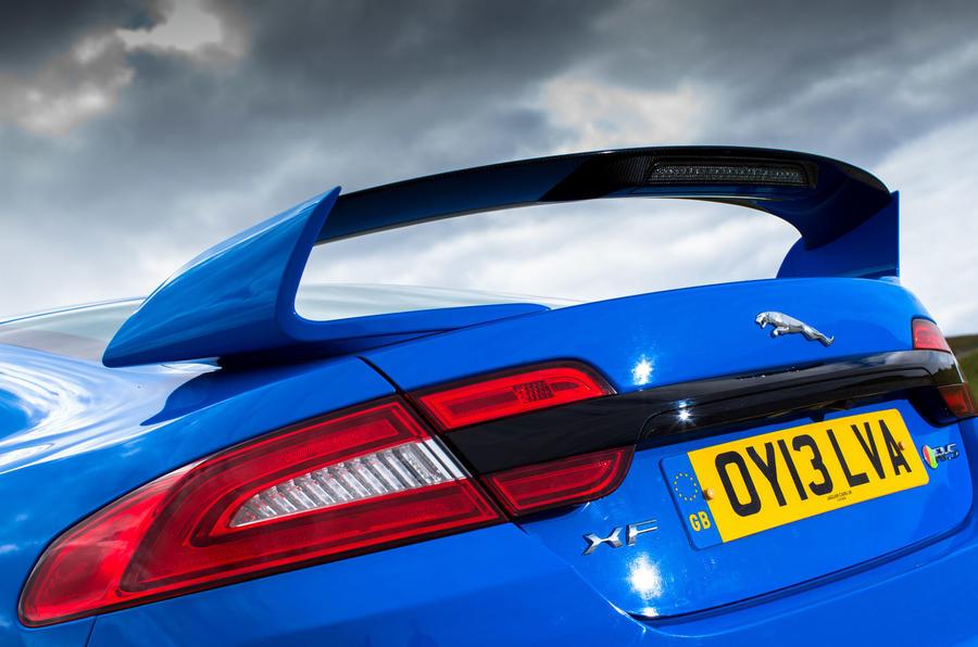 Jaguar XFR-S rear wing