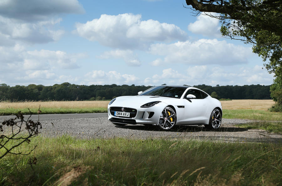Best cars of 2014 - Jaguar F-type coupé