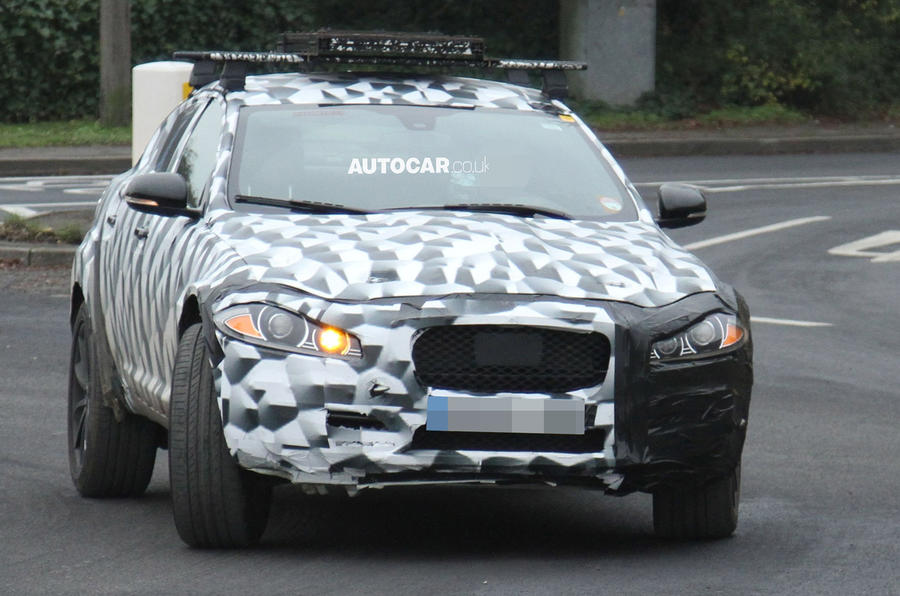 Jaguar SUV spotted - latest pictures