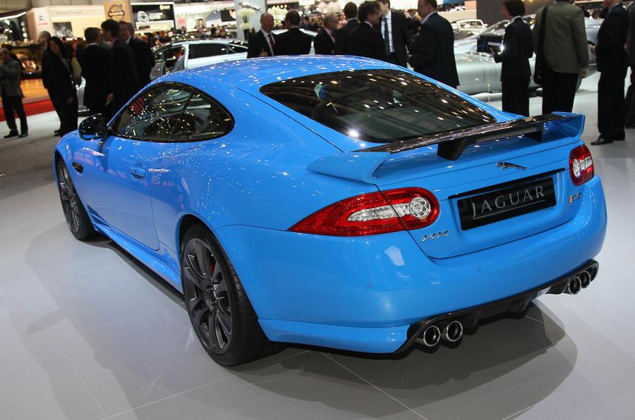 Geneva motor show: Jaguar XKR-S