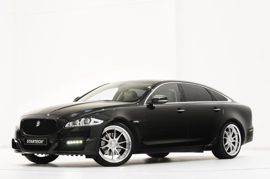 Tweaked Jaguar XJ unveiled