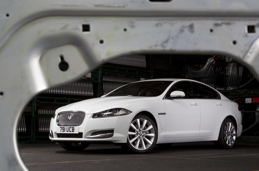 Latest Jag XF set for sales hike