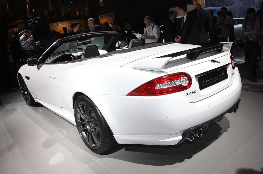 LA show: Jaguar XKR-S cabriolet