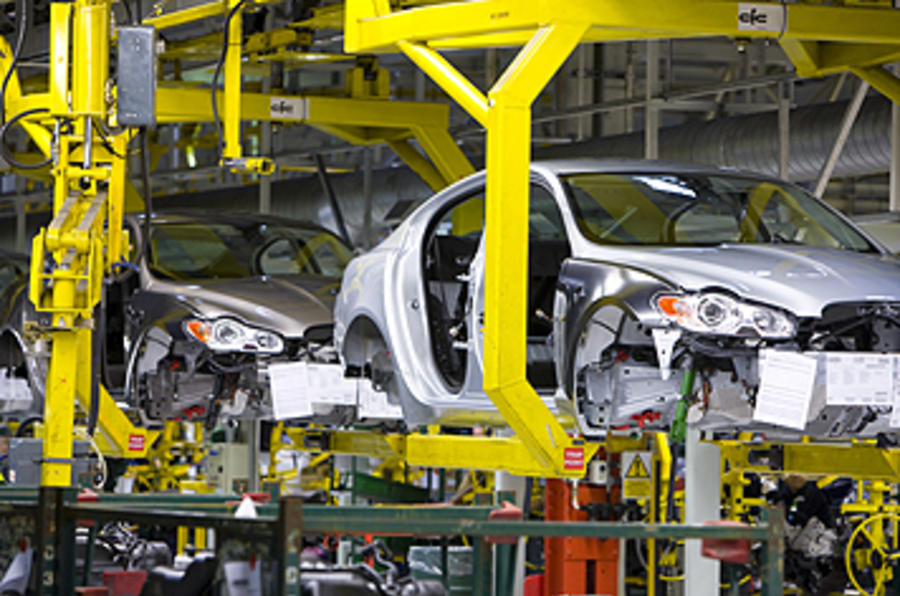 UK car production down