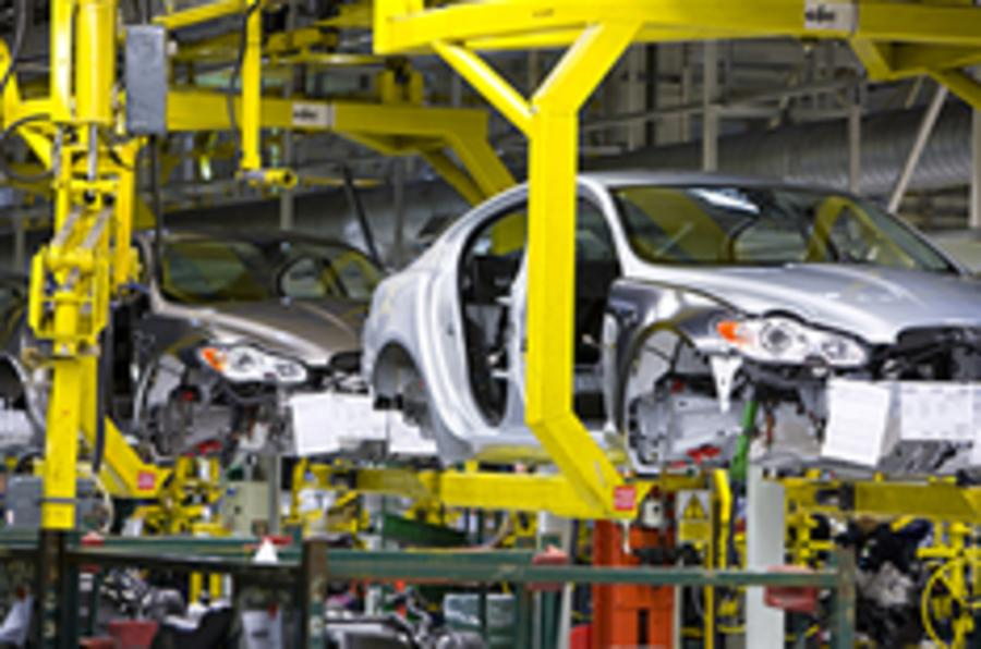 Car production cuts start to ease