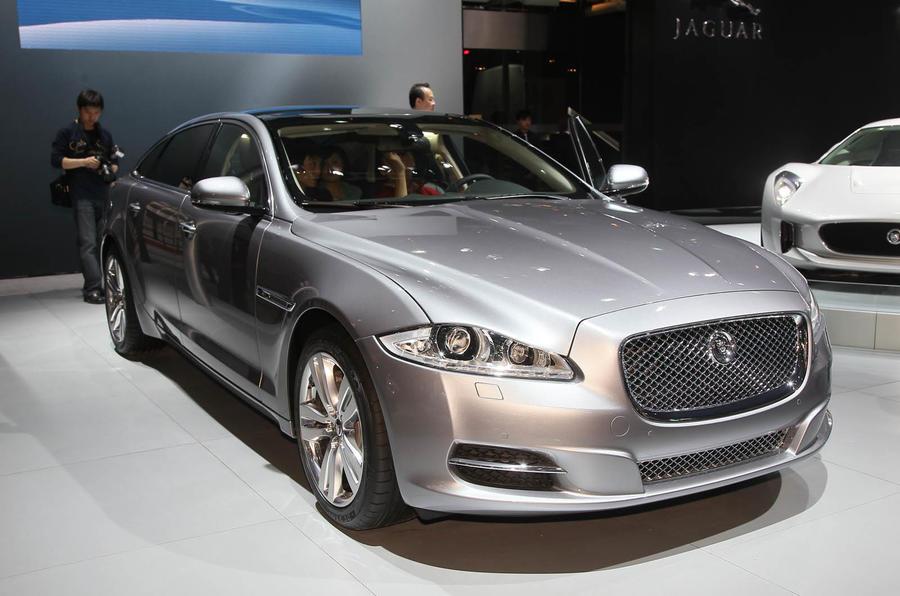 Shanghai motor show: Jaguar XJ V6