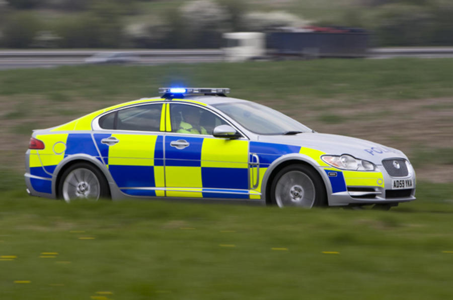 Jaguar XF police car launched