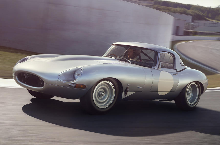 Jaguar reveals £1m Lightweight E-type ahead of Pebble Beach debut