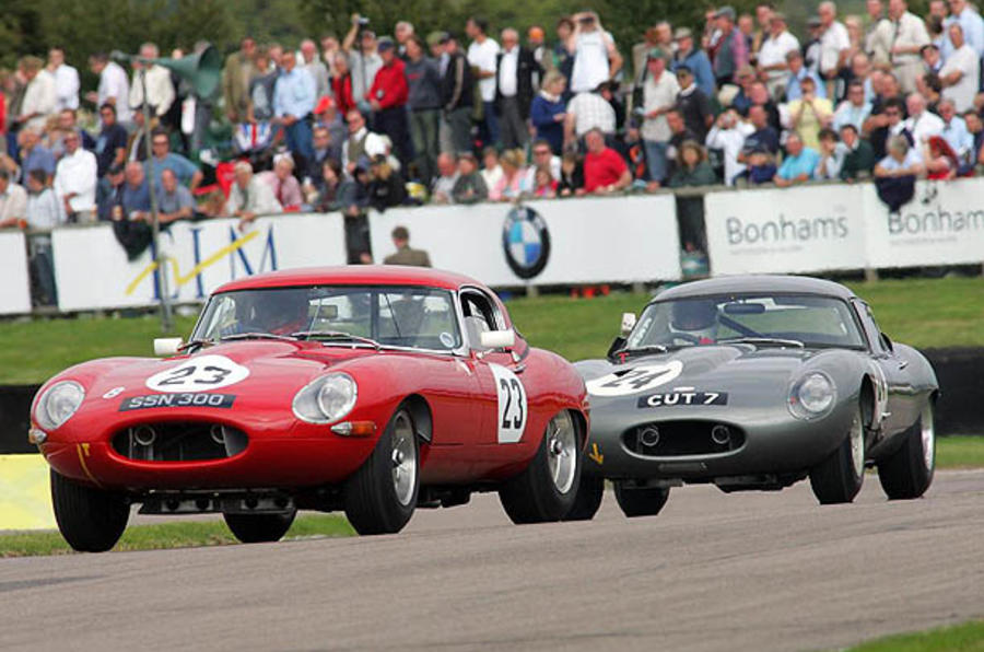 E-Type celebration for Goodwood
