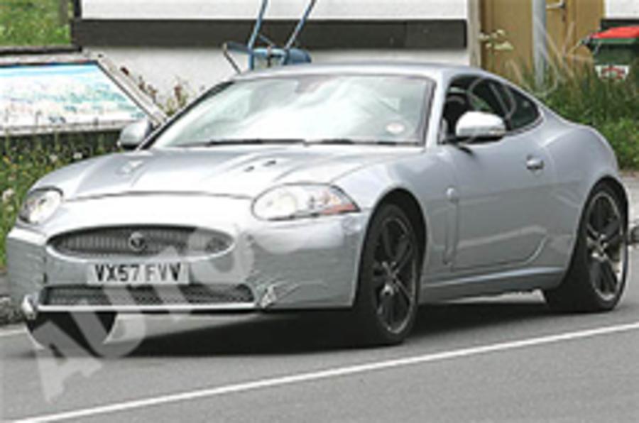 First view: Jaguar XK facelift