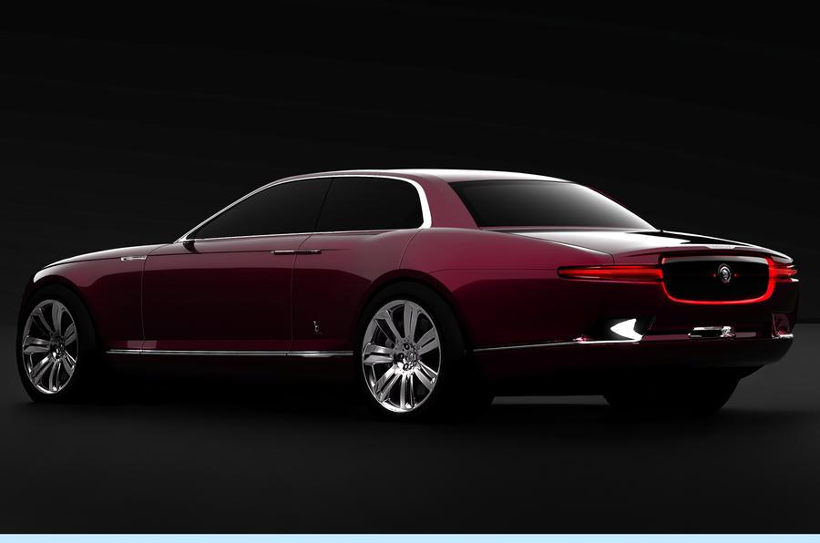 Geneva motor show: Bertone Jaguar