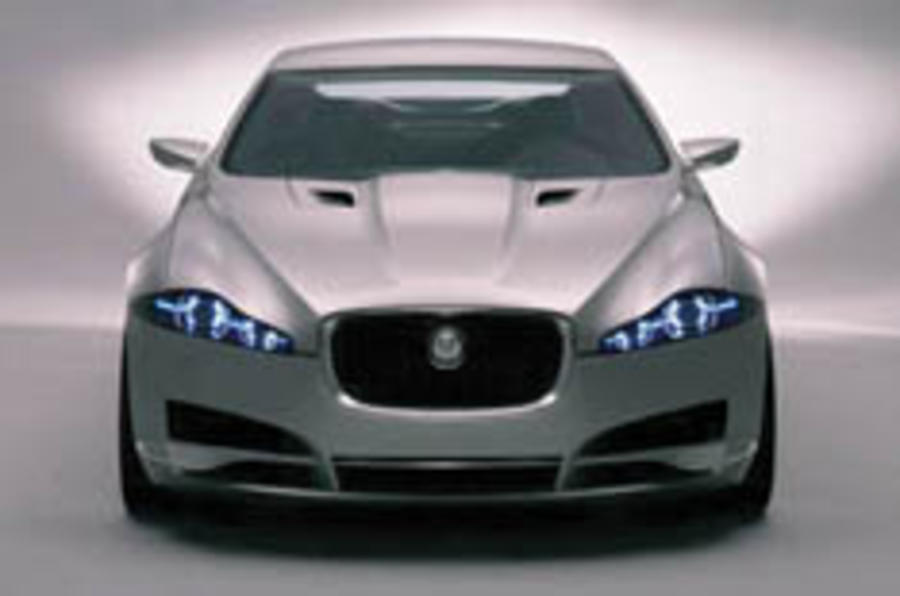 Jag's sexy saloon concept - the C-XF