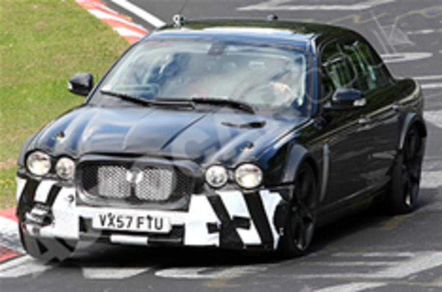 Spied: next Jaguar XJ