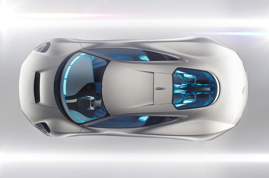 Paris motor show: Jaguar C-X75