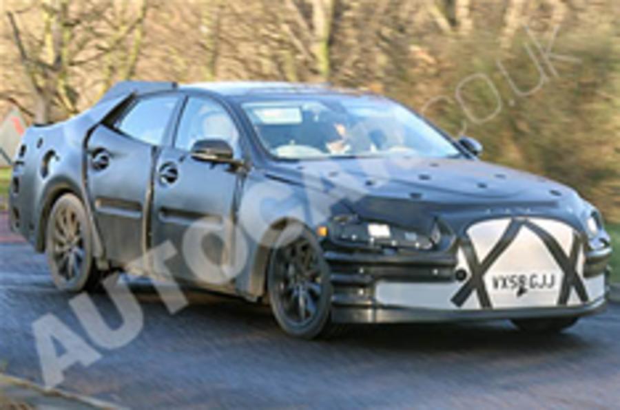 Jaguar XJ spied