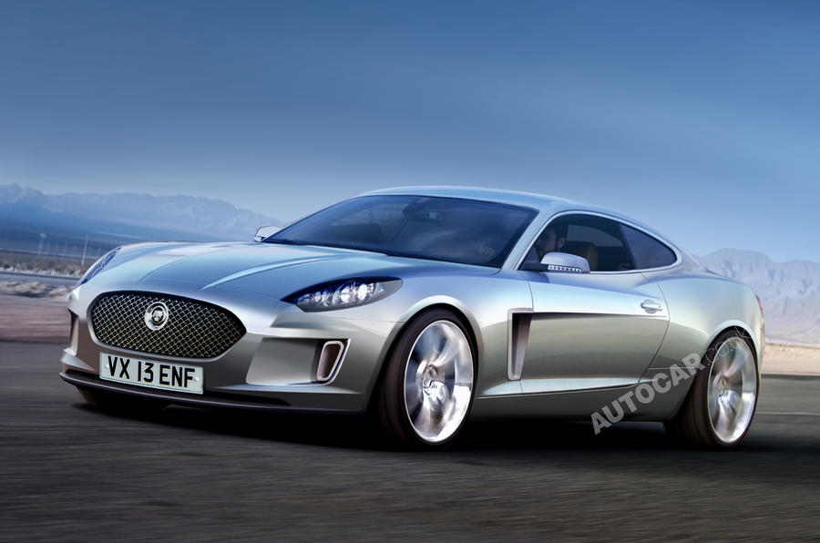 Secret Jag concept for Paris