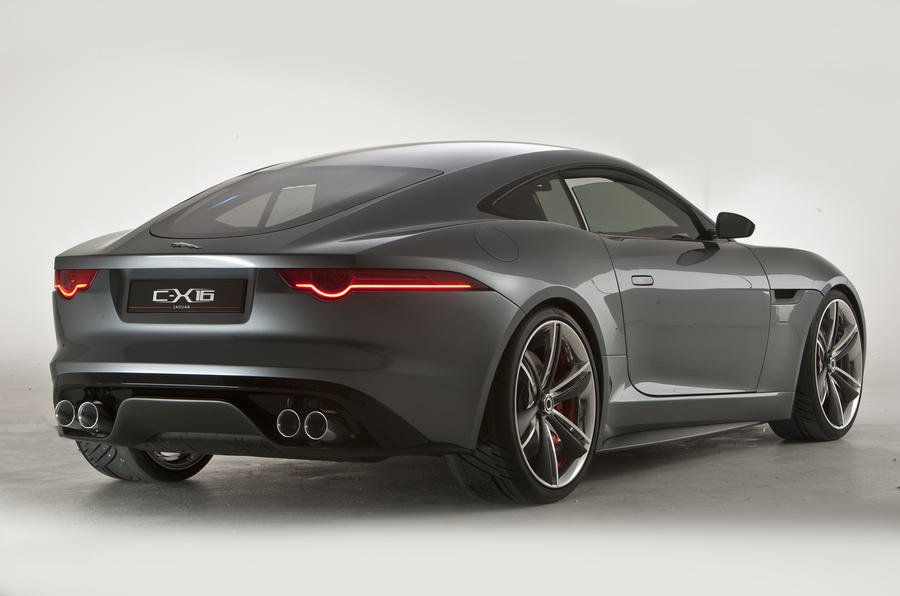 Frankfurt: Jaguar C-X16 from £55k