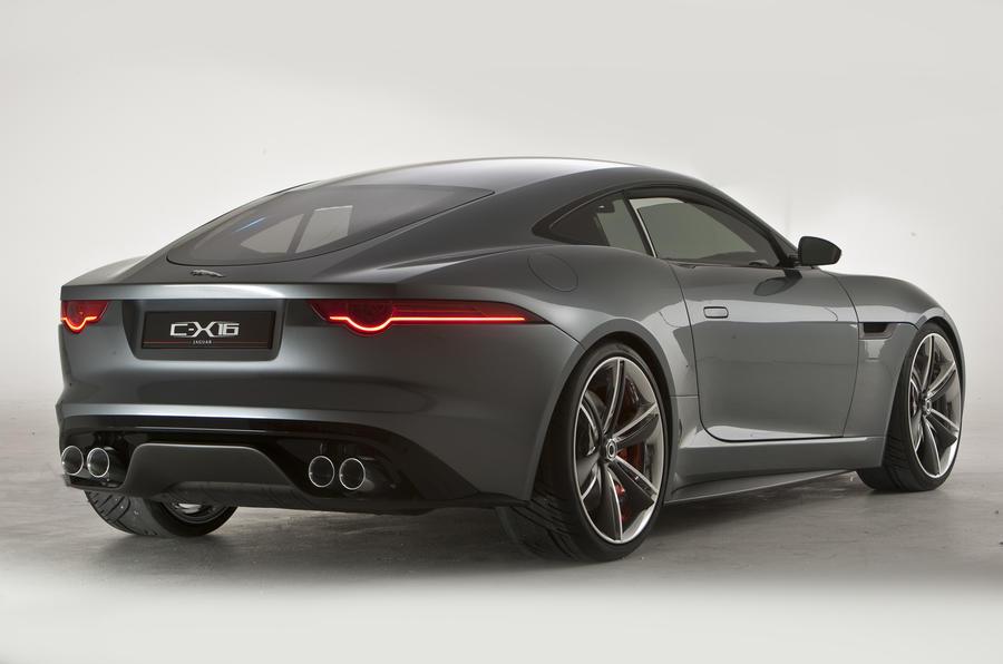 Frankfurt: Jaguar C-X16 from £55k