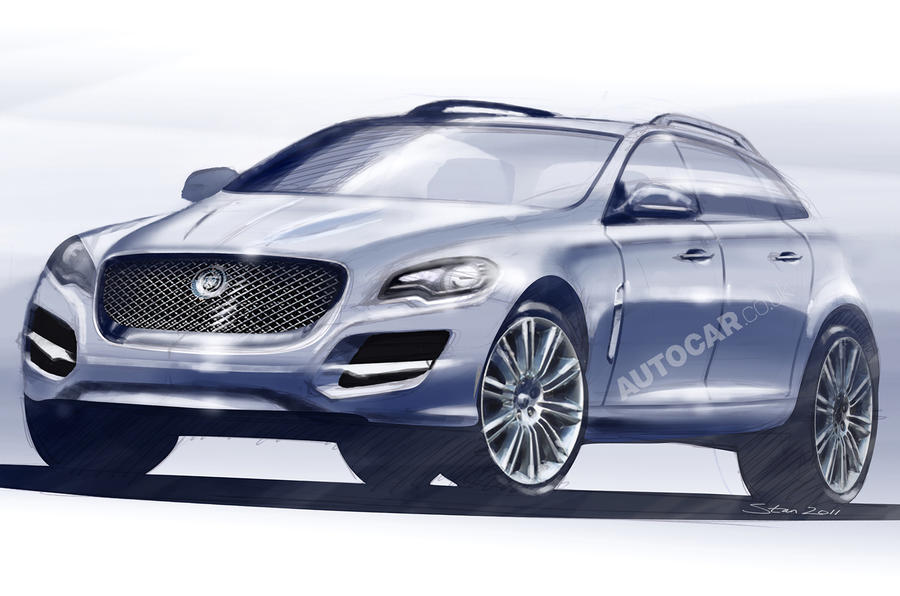 Jag's 3-series rival uncovered