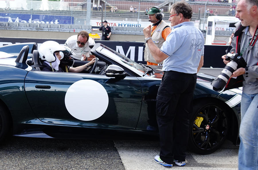 Jaguar F-type Project 7 - first ride